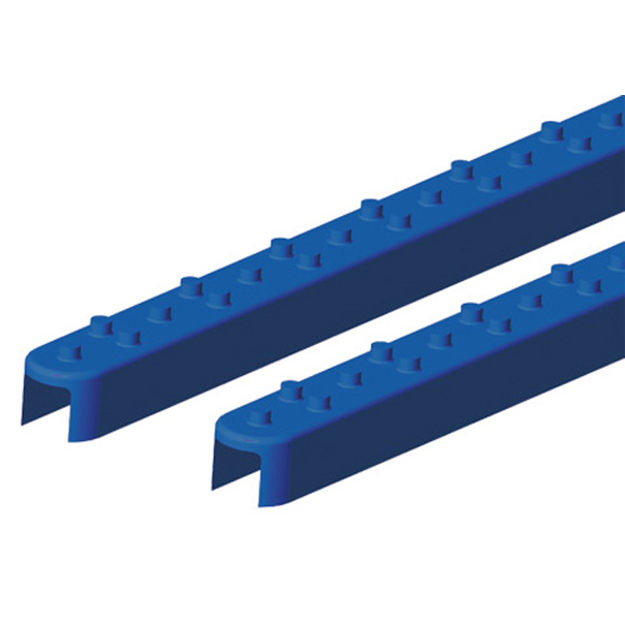 Picture of Square Style Rail Grips - Blue SnowBug SRG-853