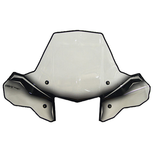 Picture of Cobra Pro Tek Windshield - Headlight Cut Out with Rapid Release Mount PowerMadd 24572