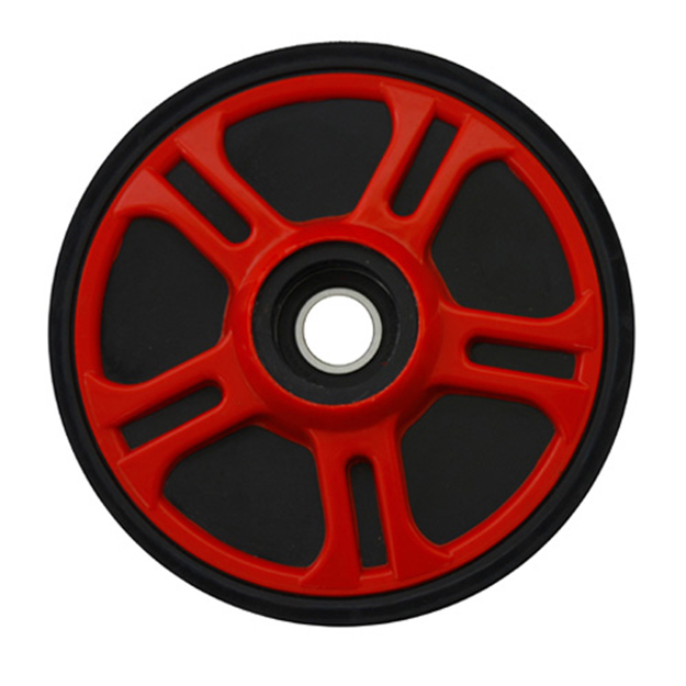 Picture of 1993 Arctic Cat Wildcat Mountain Cat Idler Wheel - 6.38in. x .625in. - Fire Red PPD 04-200-34