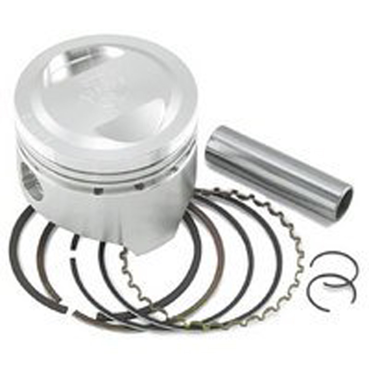 Picture of 1986 Honda TRX200SX Piston Kit - 0.50mm Oversize to 65.50mm, 10.25:1 Compression Wiseco 4394M06550