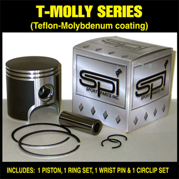 Picture of 2006 Polaris 900 SwitchBack T-Moly Series Piston Kit - Standard Bore 83.00mm Sports Parts Inc. SM-09165*